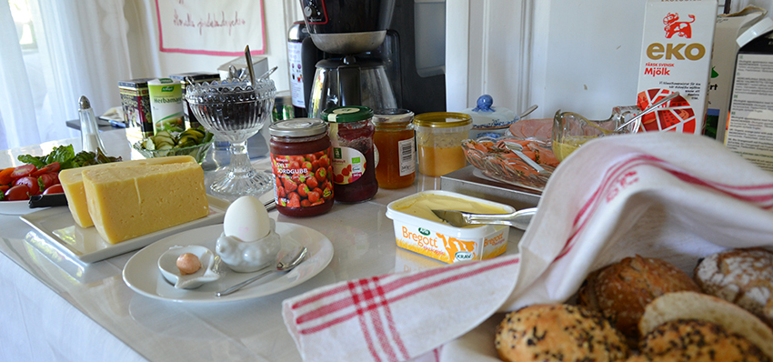 Ekologisk frukostbuffé | Ecological breakfast buffet  | Ökologisches Frühstück